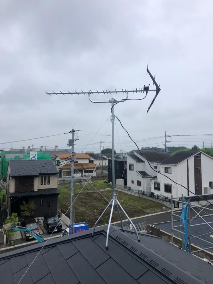 さいたま市西区西大宮|UHFアンテナ工事