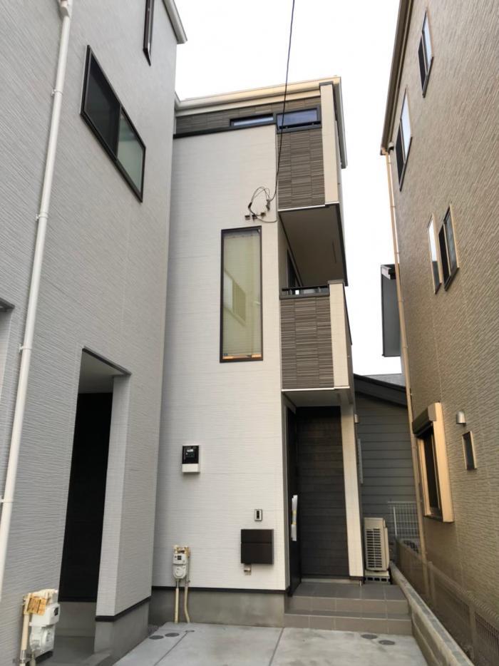 川崎市多摩区東生田|UHFアンテナ+BSCSアンテナ工事|オープンハウス