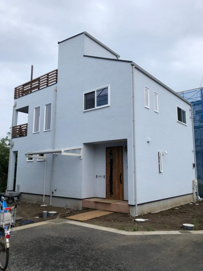 船橋市夏見|デザインアンテナ工事