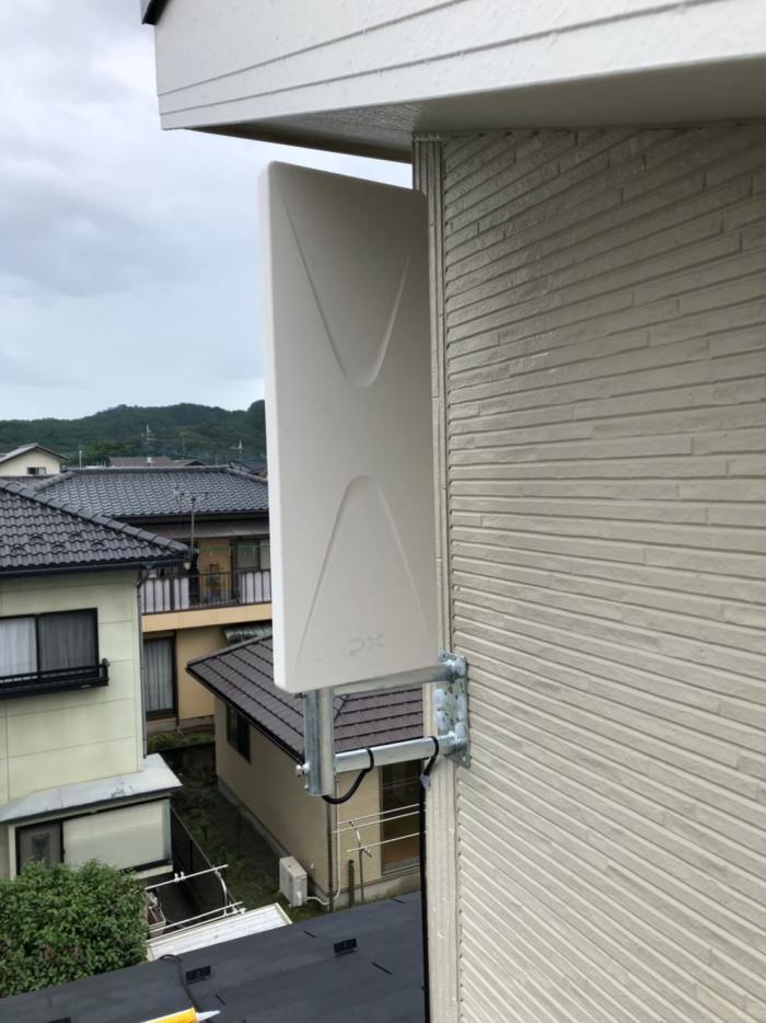 桐生市相生町|デザインアンテナ工事|一建設