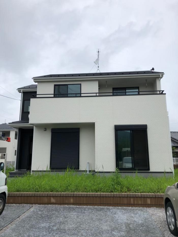 富岡市田島|UHFアンテナ+BSCSアンテナ工事|一建設