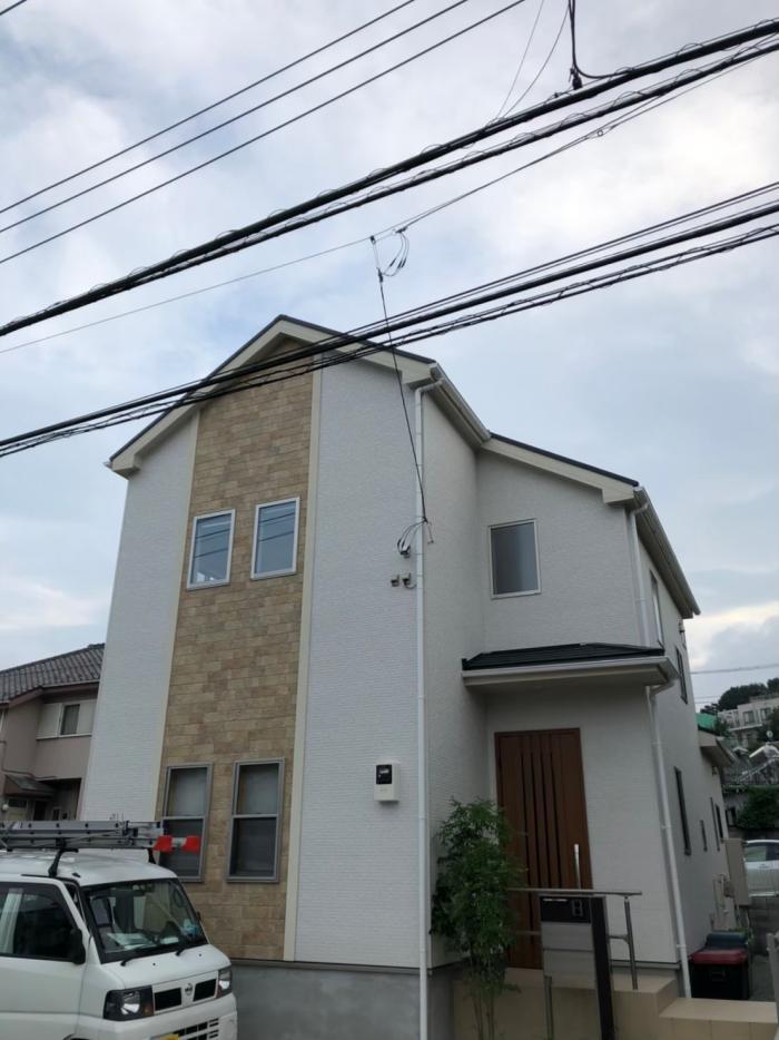 横浜市緑区北八朔町|デザインアンテナ工事|東栄住宅