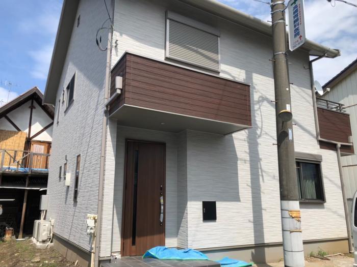 鴻巣市本町|デザインアンテナ+BSCSアンテナ工事