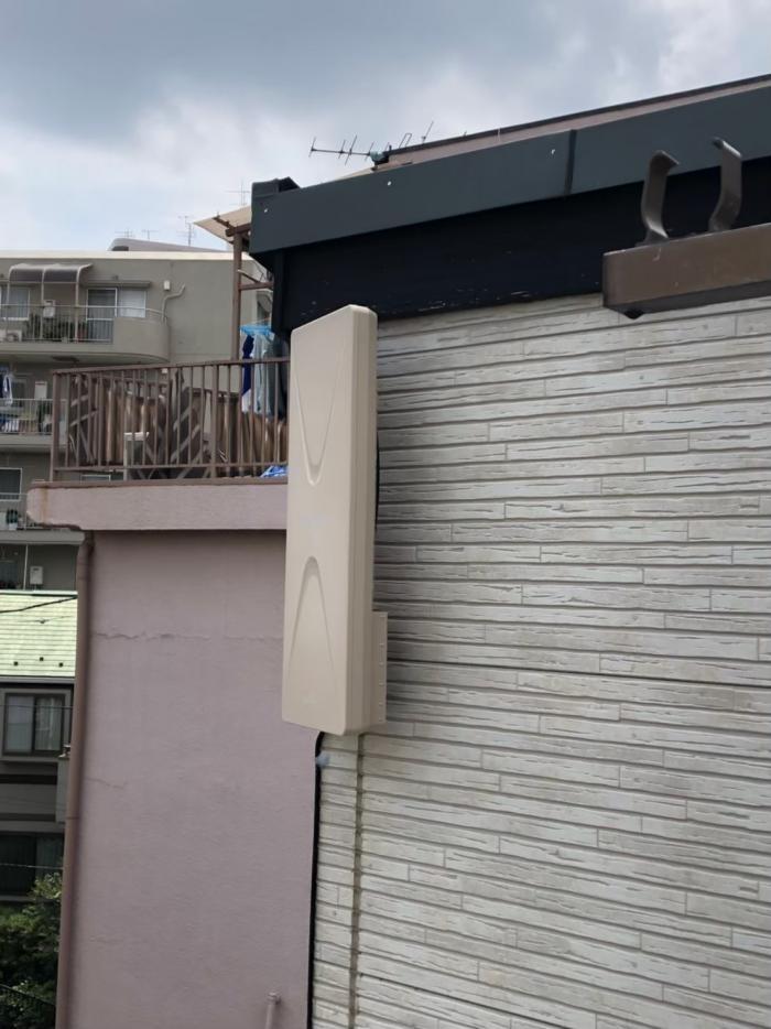 板橋区常盤台|デザインアンテナ工事