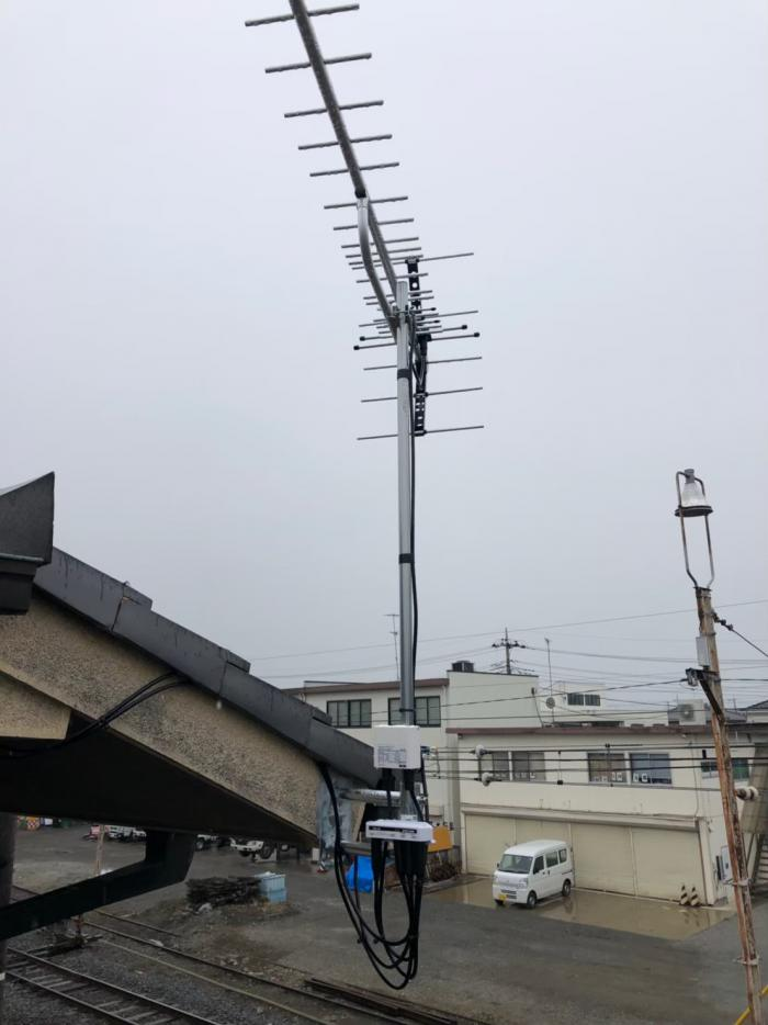行田市宮本町|UHFアンテナ工事