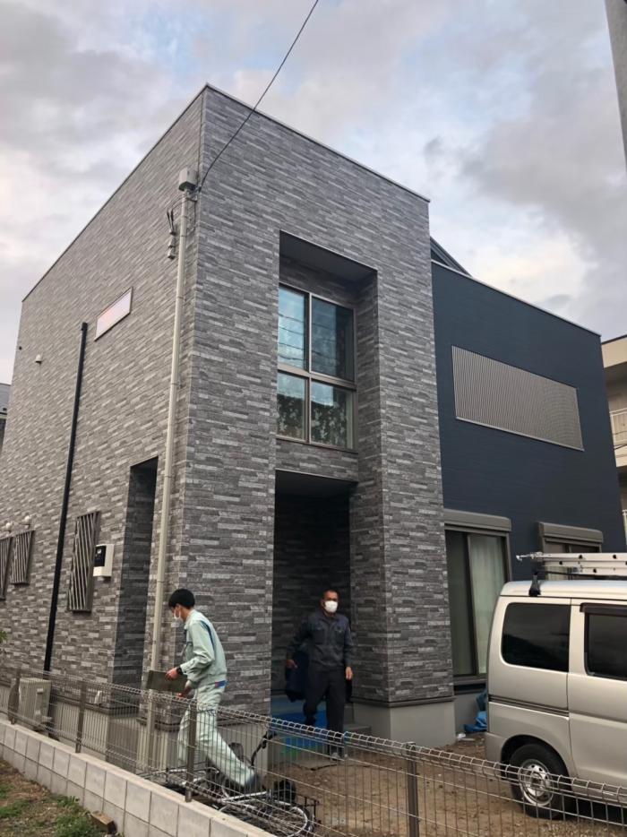 所沢市狭山ヶ丘 高性能デザインアンテナ工事