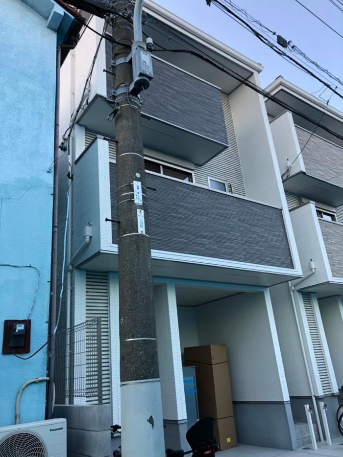 江東区東砂|横型デザインアンテナ屋内設置工事