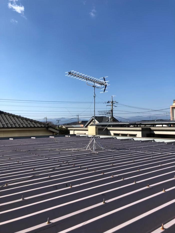 入間市扇台|高性能UHFアンテナ設置+既設アンテナ撤去工事
