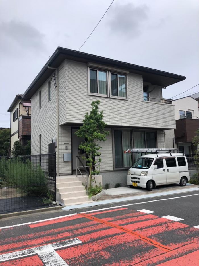 江戸川区南葛西|デザインアンテナ工事|積水ハウス