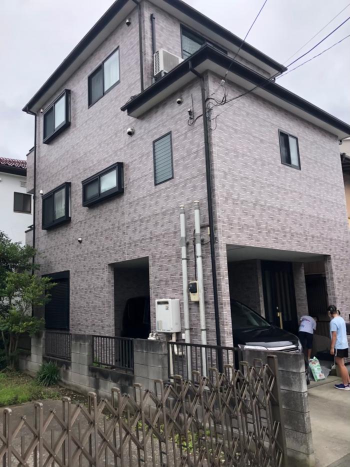 草加市谷塚町|デザインアンテナ工事
