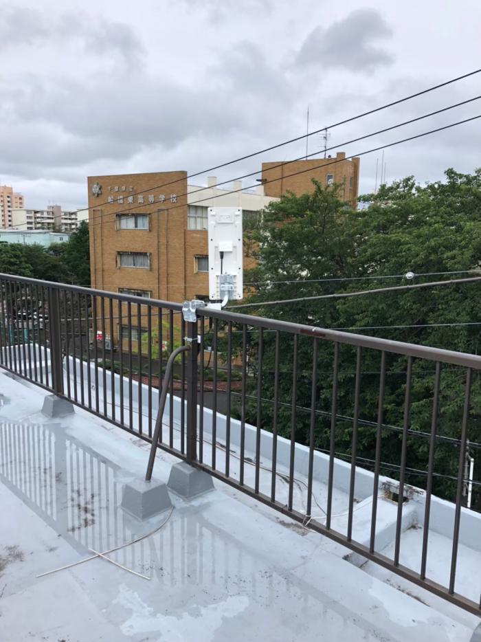 船橋市新高根|デザインアンテナ工事