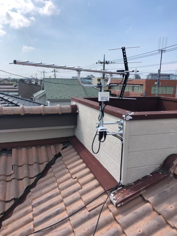加須市南町|UHFアンテナ工事