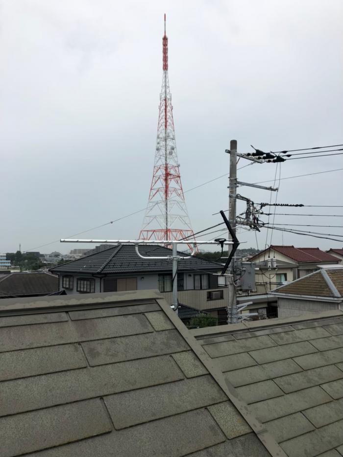 船橋市三山|UHFアンテナ工事