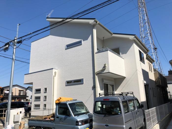 上尾市緑ヶ丘|UHFアンテナ+BS/CSアンテナ工事