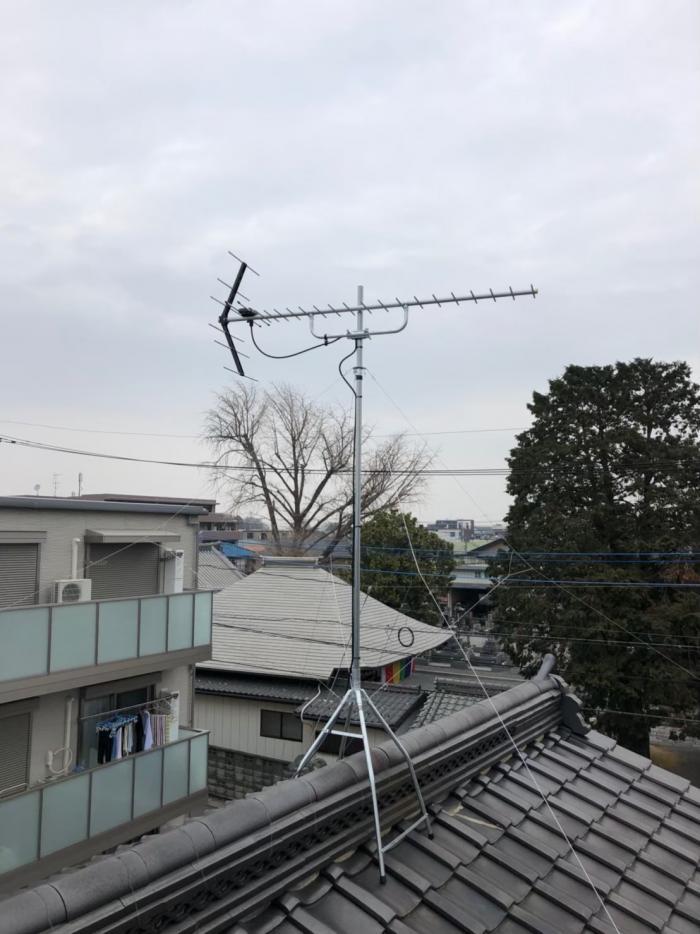さいたま市北区宮原町|UHFアンテナ工事