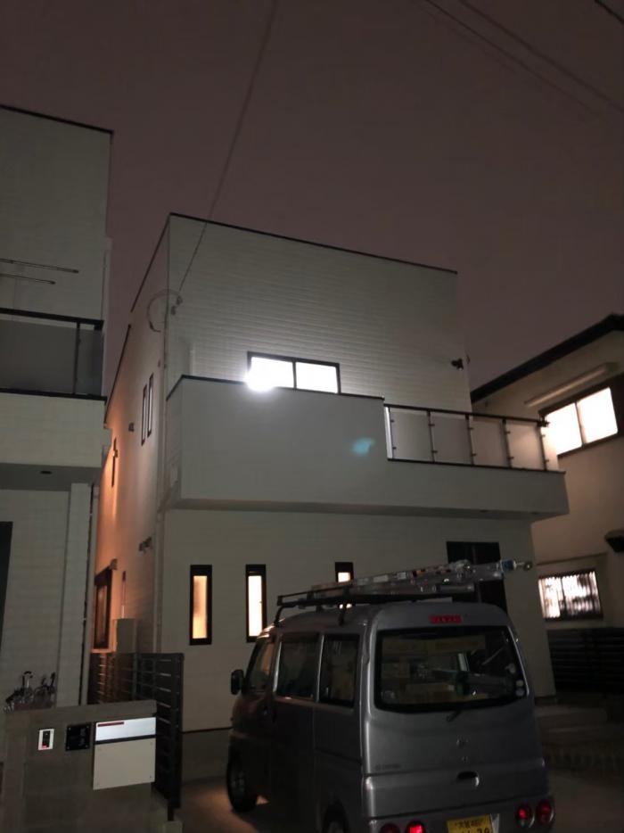 西東京市泉町|デザインアンテナ+BS/CSアンテナ工事