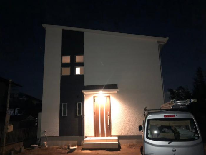 坂戸市石井|デザインアンテナ工事