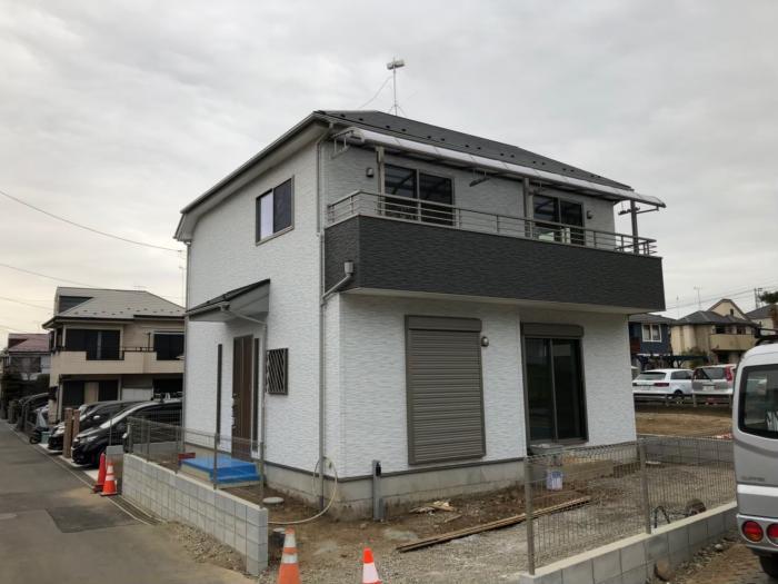 八王子市横川町|横型デザインアンテナ 工事