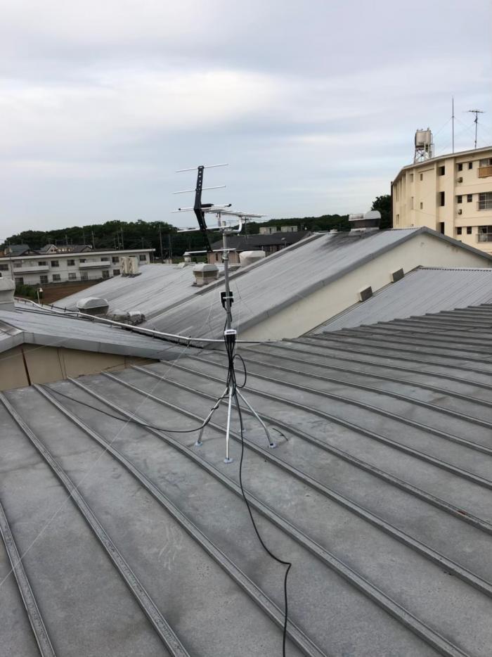 新座市野火止|UHFアンテナ工事