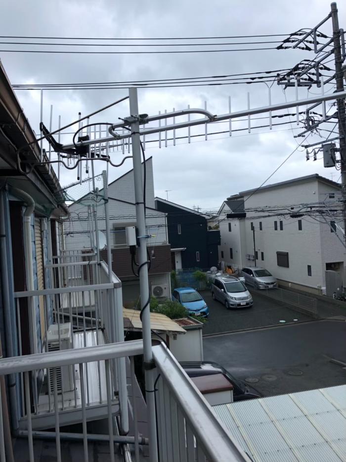 平塚市西真土|UHFアンテナ工事
