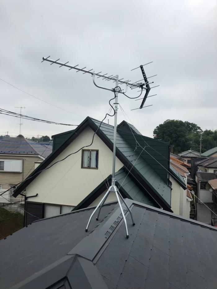 さいたま市見沼区蓮沼|UHFアンテナ工事