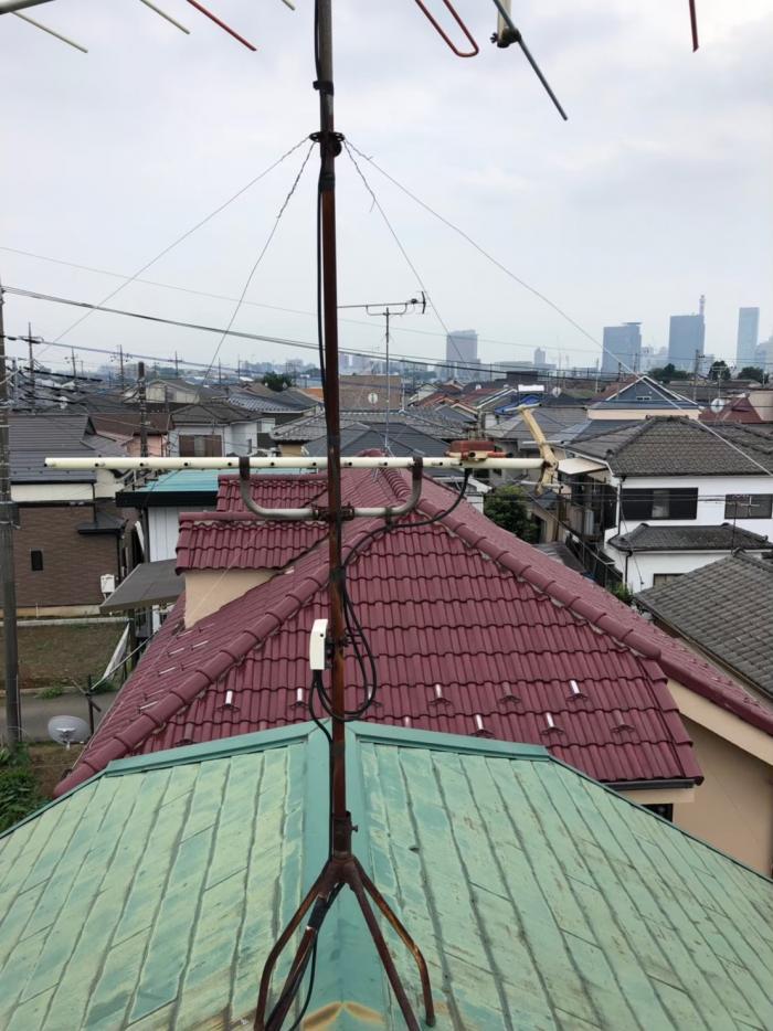 さいたま市見沼区中川|アンテナ方向調整工事