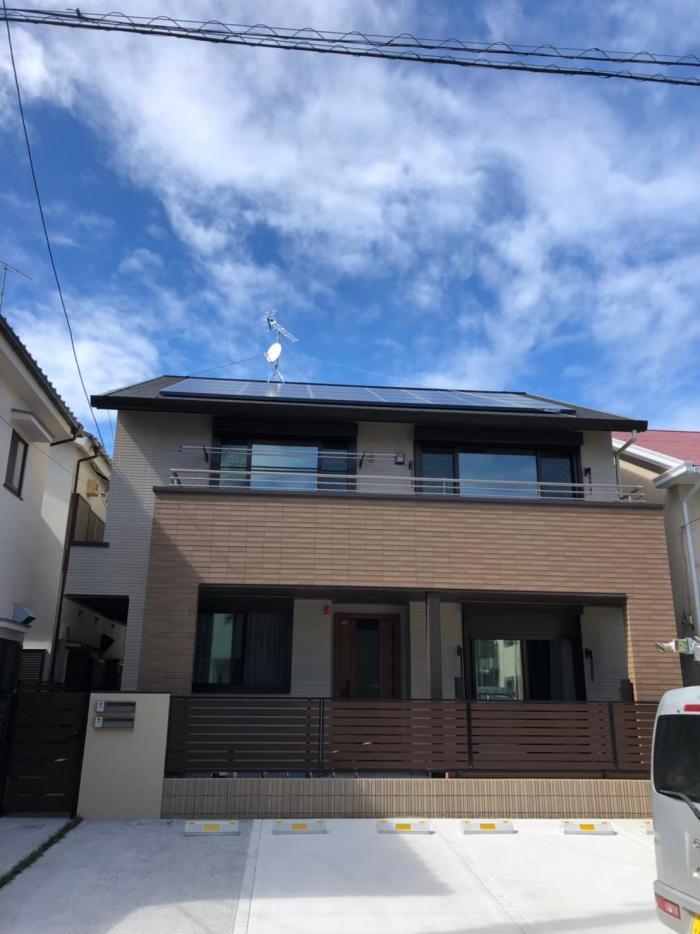 大田区東矢口|UHFアンテナ+BS/CSアンテナ工事