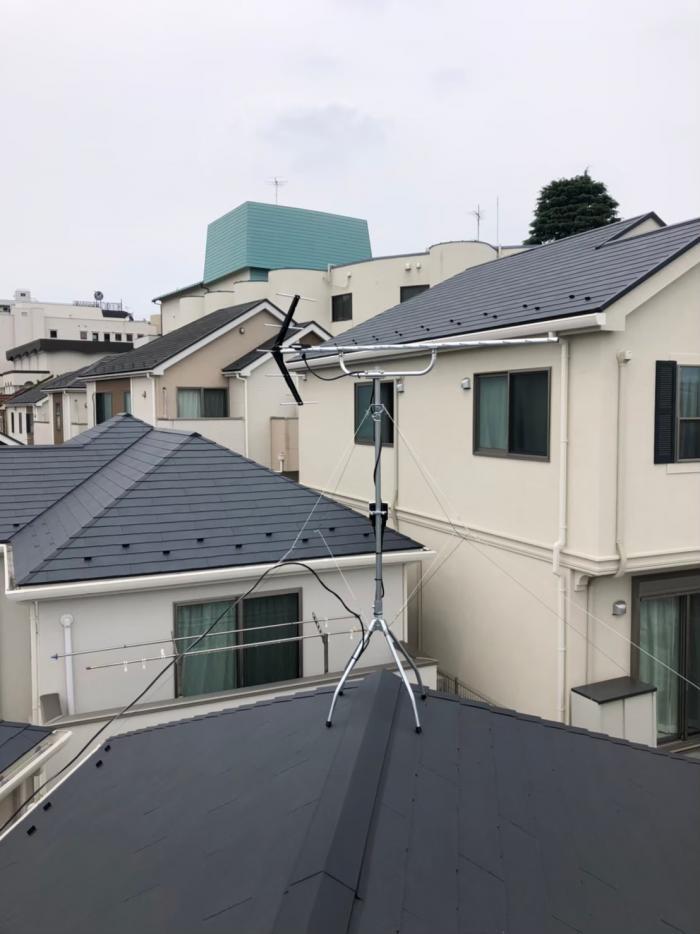 川崎市宮前区犬蔵 UHFアンテナ工事