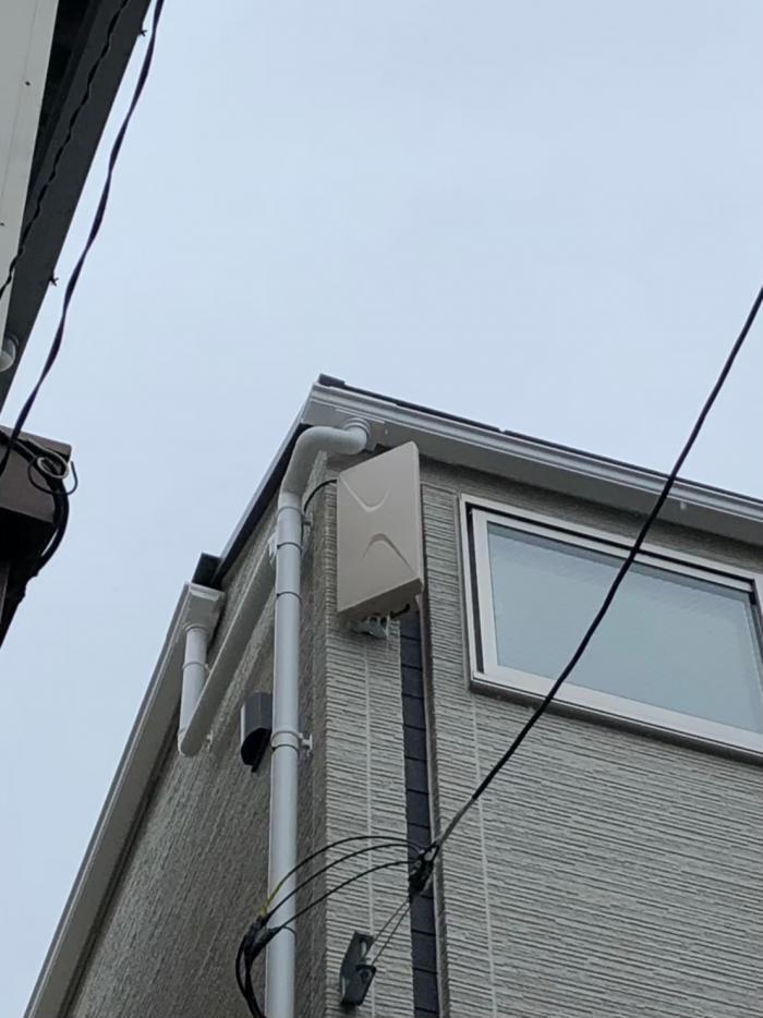 荒川区町屋|デザインアンテナ工事