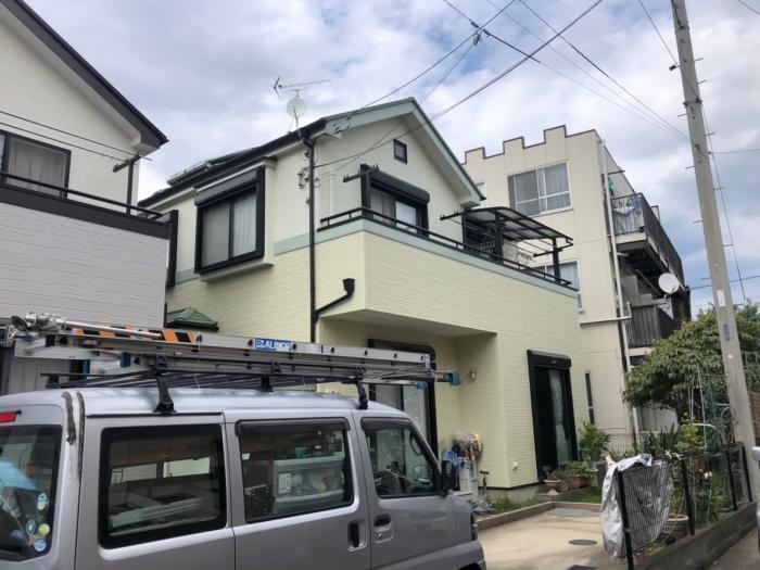 さいたま市北区奈良町|UHFアンテナ+BS/CSアンテナ工事