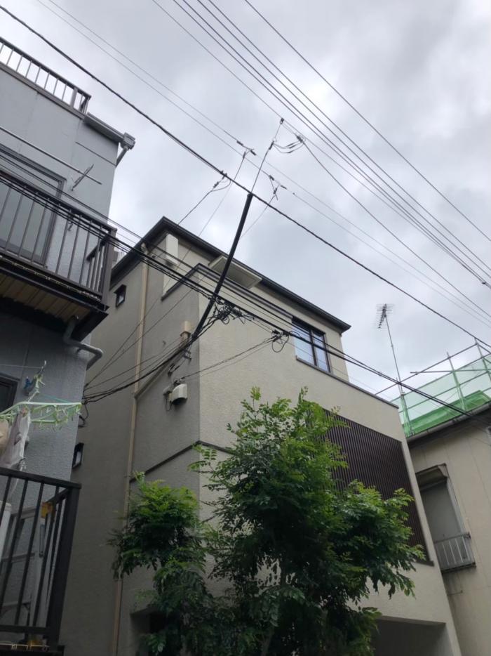 豊島区池袋|BS/CSアンテナ追加工事|三井ホーム