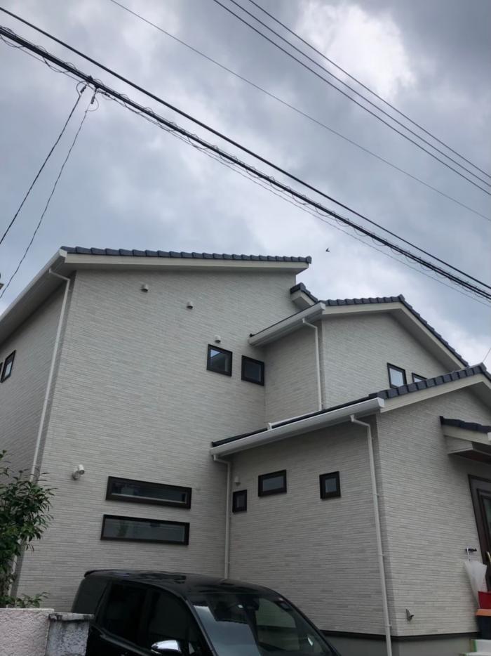 鶴ヶ島市脚折 高性能デザインアンテナ工事 アイ工務店