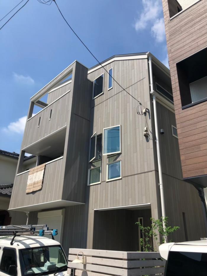 横浜市港北区大倉山|デザインアンテナ工事|マルナカ