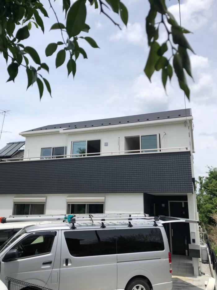 所沢市北野南 デザインアンテナ工事 オレンジホームズ