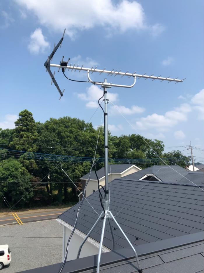 野田市春日町|UHFアンテナ工事