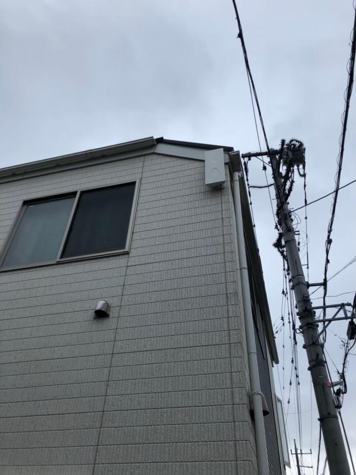 小金井市桜町|デザインアンテナ工事|飯田産業