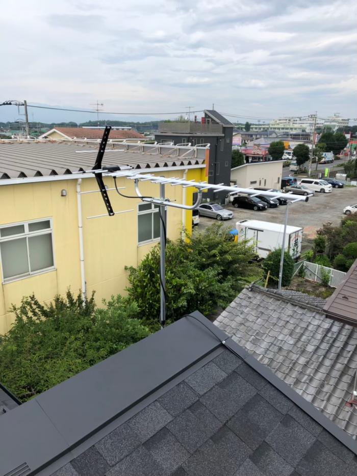 相模原市南区相模台 UHFアンテナ工事 住宅情報館