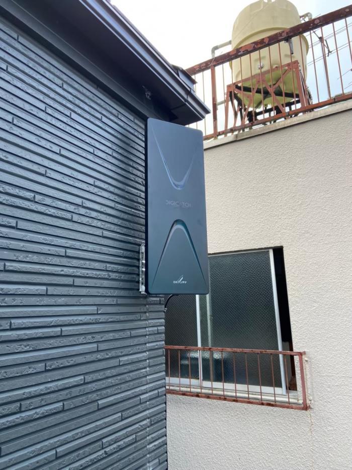 豊島区北大塚|デザインアンテナ工事|オープンハウスアーキテクト