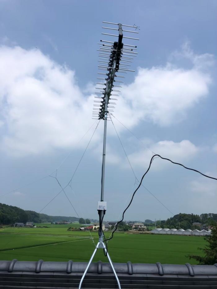 塩谷郡高根沢町上高根沢|高性能UHFアンテナ+既存アンテナ撤去工事