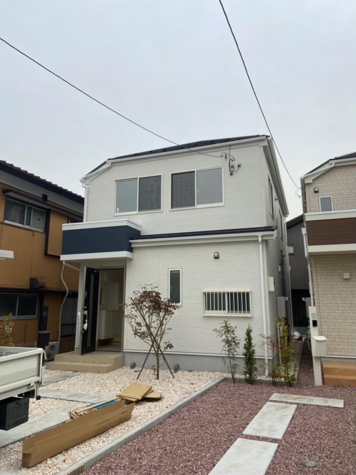 野田市柳沢 デザインアンテナ工事