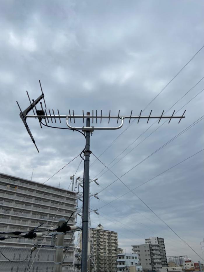 葛飾区東新小岩|UHFアンテナ工事