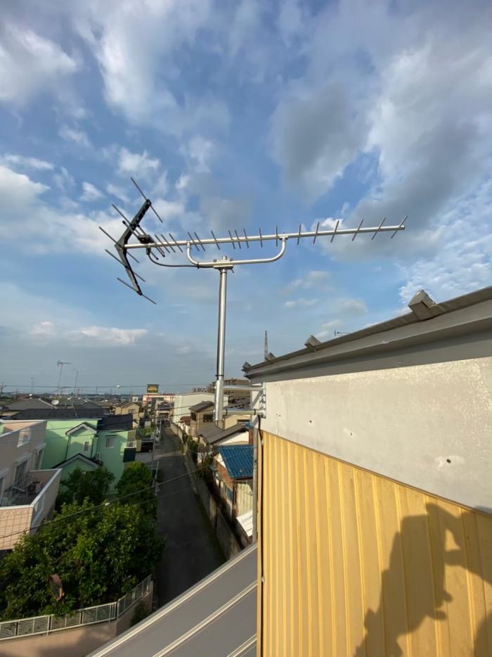 鴻巣市人形|UHFアンテナ工事