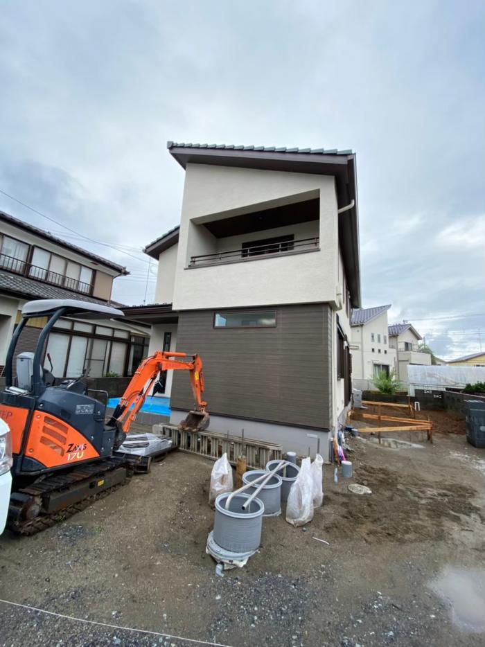 熊谷市佐谷田|デザインアンテナ工事|三井ホーム