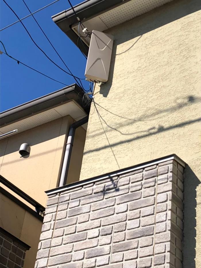 富士見市ふじみの東|デザインアンテナ工事