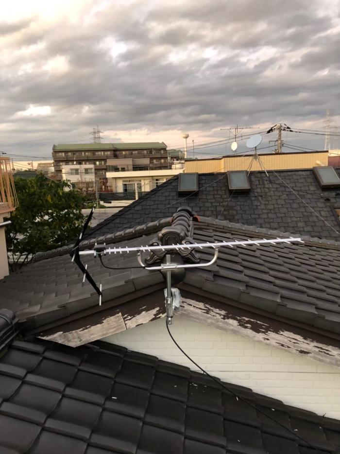 世田谷区北烏山|UHFアンテナ工事
