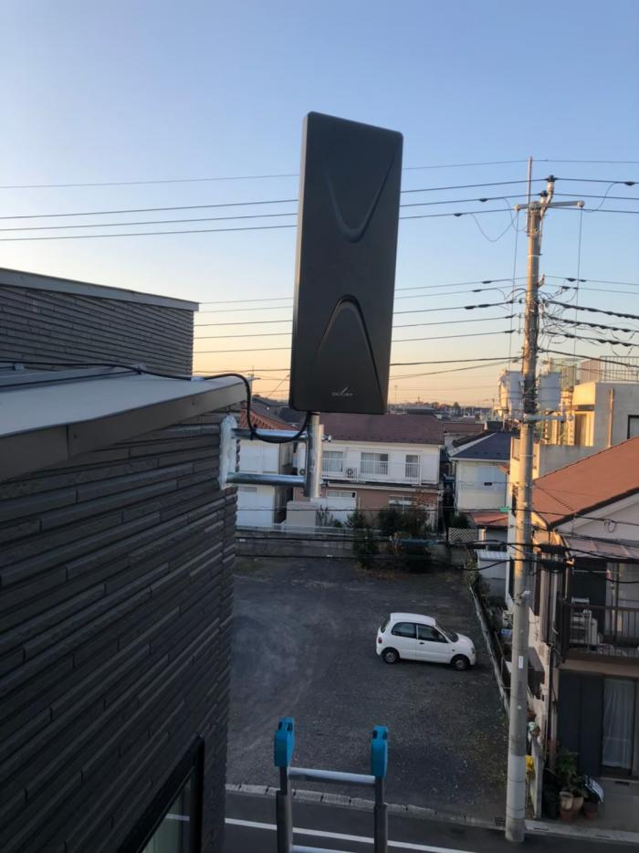 川越市清水町|デザインアンテナ工事
