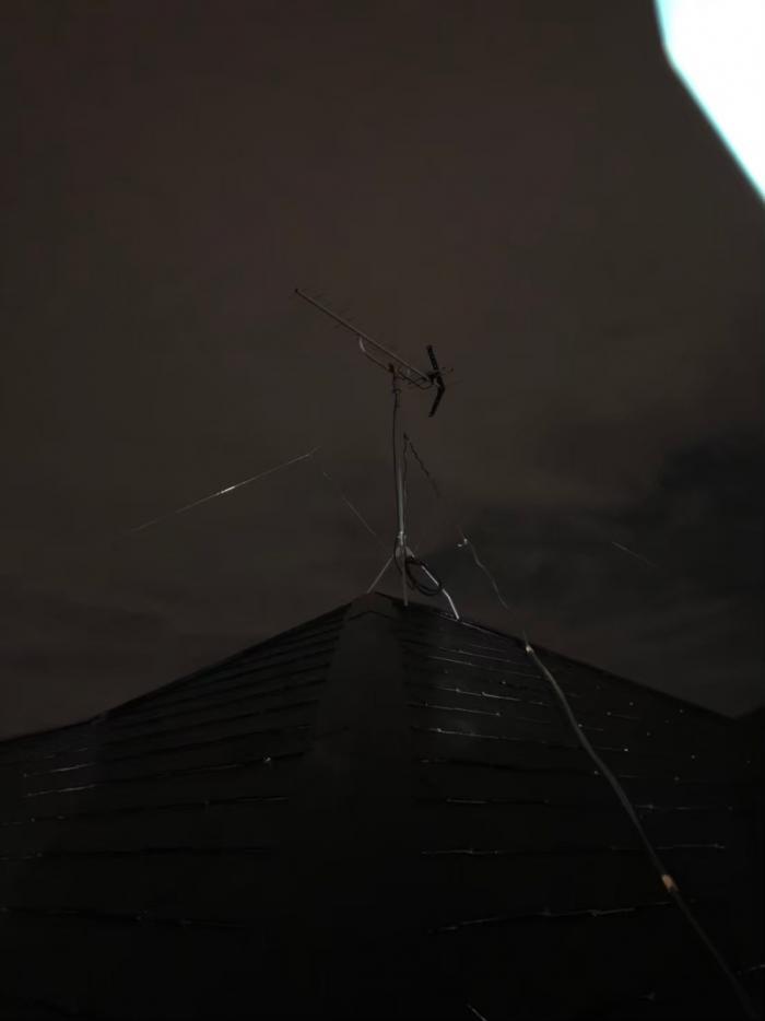 船橋市習志野台|UHFアンテナ+既設アンテナ撤去工事