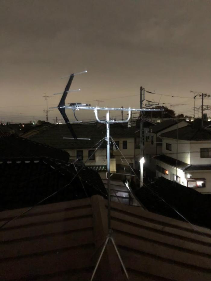 ふじみ野市新駒林|UHFアンテナ+既設アンテナ撤去工事