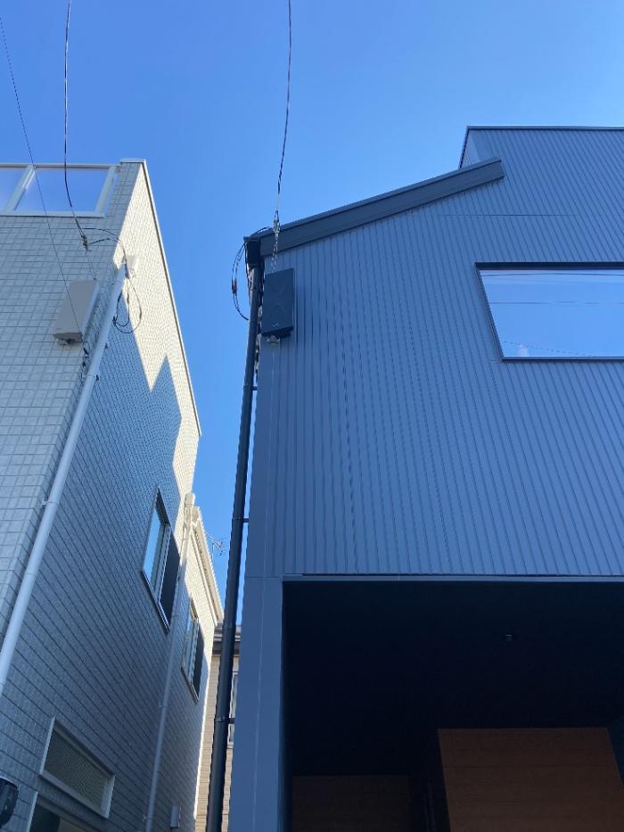 船橋市習志野台 デザインアンテナ工事