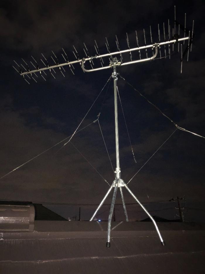 佐倉市染井野|高性能UHFアンテナ工事